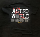 Travis Scott AstroWorld Wish You Were Here Cities Tour Tee