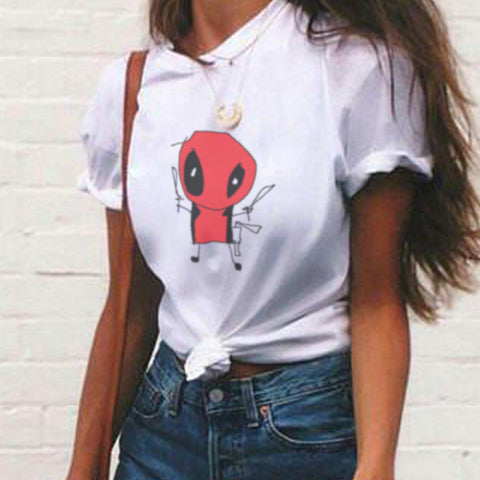DeadPool Scribble T Shirt