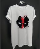 DeadPool Splatter Mask T Shirt