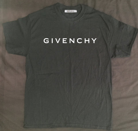 Black Givenchy Tee (Large)