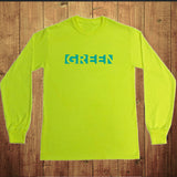 Fluorescent Green Film T-Shirt
