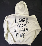 Astroworld Beige Look Mom I Can Fly Hoodie (Lg)