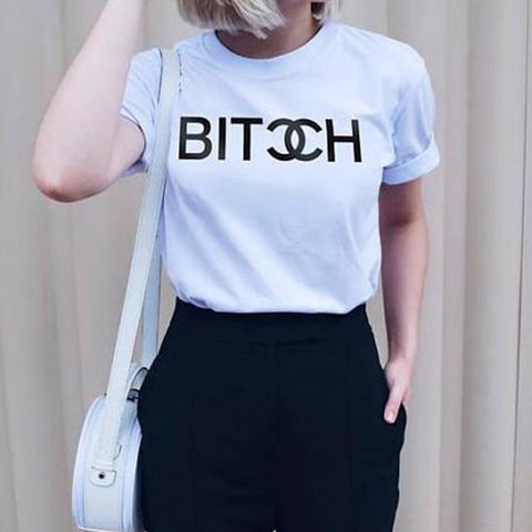 Chanel, Bitch T Shirt