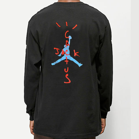 Travis Scott x Jumpman Cactus Jack Long Sleeve
