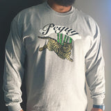 Jungle Tiger Gray Long Sleeve T-Shirt