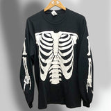 Black Playboi Carti Die Lit Skeleton Long Sleeve