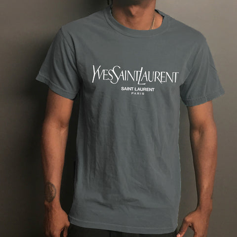 Yves Saint Laurent Paris Long or Short Sleeve Tee