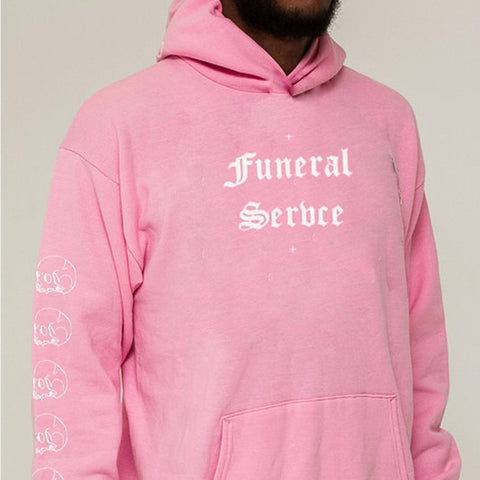 White Chapel Funeral Service Hoodie
