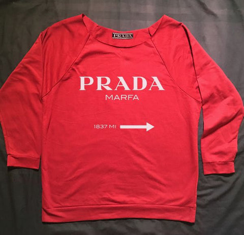 Red Prada Marfa Shirt