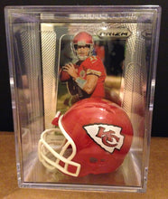Load image into Gallery viewer, Kansas City Chiefs NFL mini helmet shadowbox w/ player card