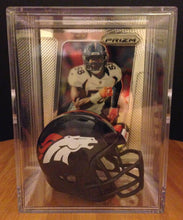 Load image into Gallery viewer, NFL All-Star Line up mini helmet shadowbox w/ player card - Super Fan Cave