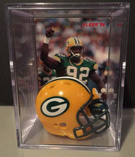 Load image into Gallery viewer, Green Bay Packers NFL mini helmet shadowbox w/ player card