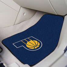 "Load image into Gallery viewer, NBA Teams 2-pc Carpet Car Mat Set 17""x27"" - Super Fan Cave"