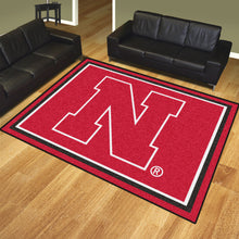 Load image into Gallery viewer, NCAA College Team Logo Plush Rug 8'x10' - Super Fan Cave
