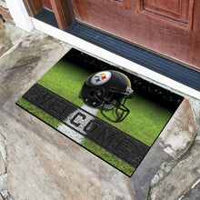 "Load image into Gallery viewer, NFL Teams Crumb Rubber Door Mat 18""x30"""