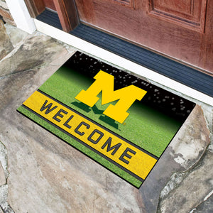 NCAA College Teams Crumb Rubber Door Mat 18