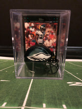 Load image into Gallery viewer, Philadelphia Eagles NFL mini helmet shadowbox w/ player card - Super Fan Cave
