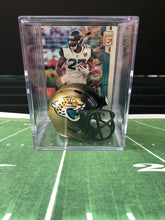 Load image into Gallery viewer, Jacksonville Jaguars NFL mini helmet shadowbox w/ player card - Super Fan Cave