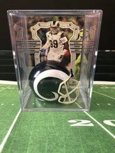 Load image into Gallery viewer, Los Angeles Rams NFL mini helmet shadowbox w/ player card - Super Fan Cave