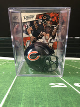 Load image into Gallery viewer, Chicago Bears mini helmet shadowbox w/ player card - Super Fan Cave