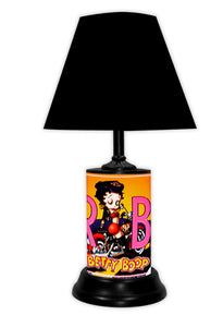 Betty Boop License Plate made Lamp with shade - Super Fan Cave