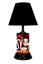 Load image into Gallery viewer, Betty Boop License Plate made Lamp with shade - Super Fan Cave