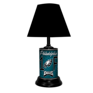 NFL Football #1 Fan Team Logo License Plate made Lamp with shade - Super Fan Cave