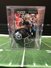 Load image into Gallery viewer, Tennessee Titans NFL mini helmet shadowbox w/ card - Super Fan Cave