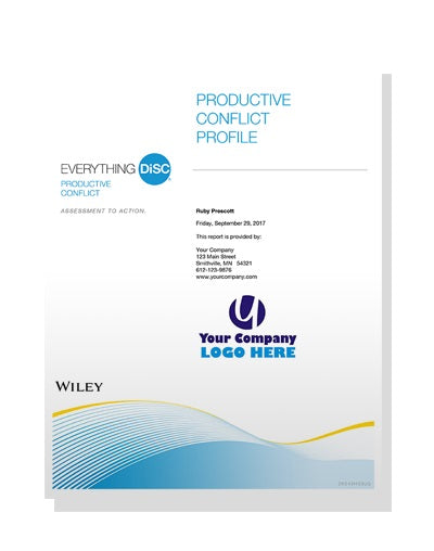 Everything DiSC® Productive Conflict Profile