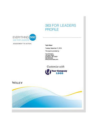 Everything DiSC 363® for Leaders Report