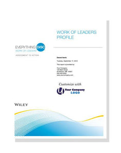 Everything DiSC® Work of Leaders Profile