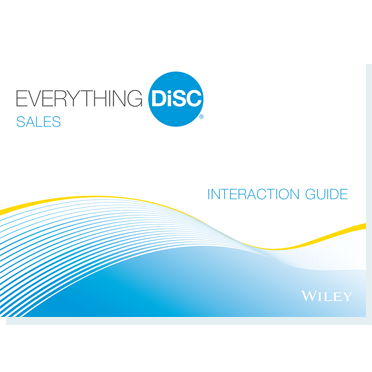 Everything DiSC® Sales Customer Interaction Guides