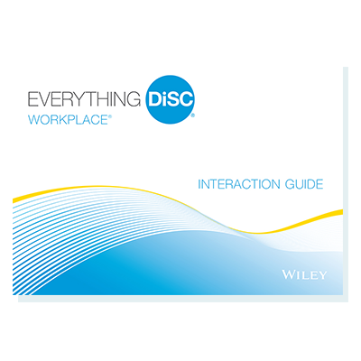 Everything DiSC Workplace® Interaction Guides