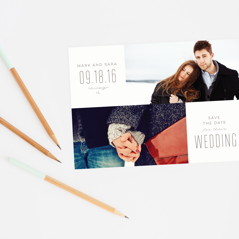 Infinite Save the Date by Ellis Design
