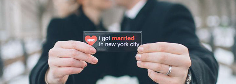 I got married in NYC magnet