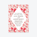 Berry Patch Wedding Invitation Suite - Invitation - by Olivia Raufman for Skipt Paper Co.