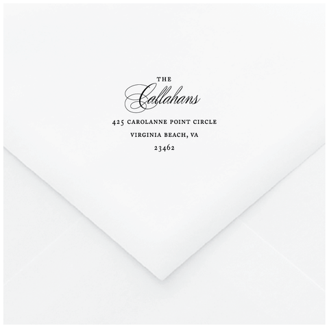 Ethereal Branch Personalized Address Stamp