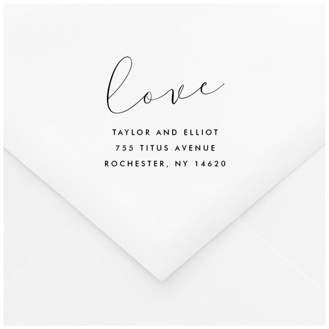 Union Personalized Address Stamp