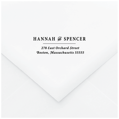 Exquisite Personalized Address Stamp