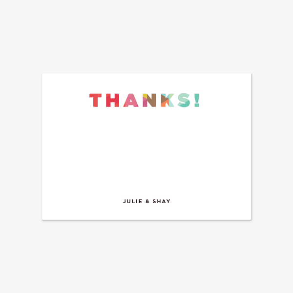 Prism Notecards - Notecards - by Skipt Paper Co for Skipt Paper Co.
