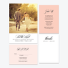 Tied the Knot Photo Elopement Announcement - One-Photo Elopement Announcement - by Skipt Paper Co for Skipt Paper Co.
