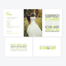 Type I Photo Elopement Announcement - One-Photo Elopement Announcement - by Up Up Creative for Skipt Paper Co.