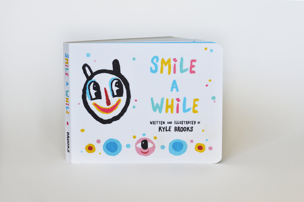 Smile A While book by Kyle Brooks (a/k/a BlackCatTips)