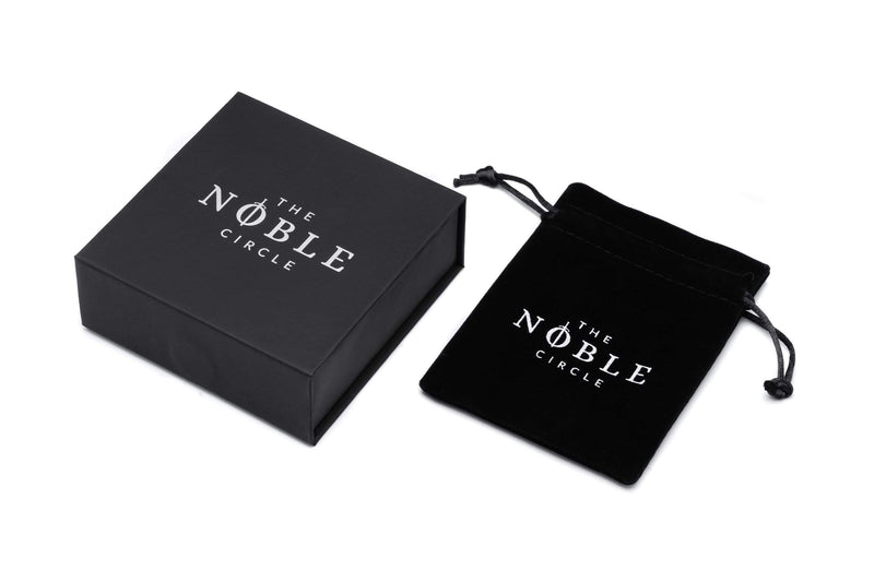 Black Morholt Leather bracelet-TheNobleCircle