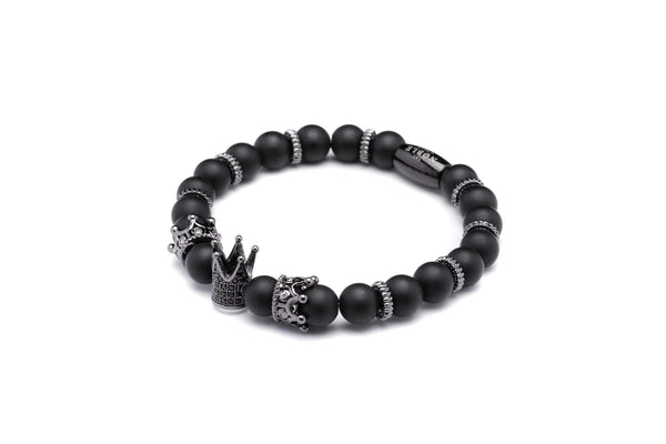 Barons Loyalty Black Bracelet-TheNobleCircle