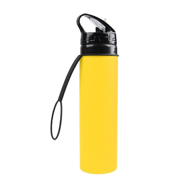 Collapsible Portable Foldable Leak-Proof Silicone Bottles
