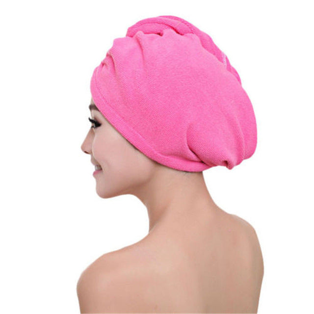 Magical Ultra-Absorbent MicroFibre Hair Drying Wrap