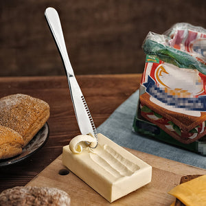 Stainless Steel Butter and Jam Spreader