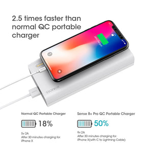 30000mAh ROMOSS Sense 8+ Portable Power Bank With Two-Way Charging