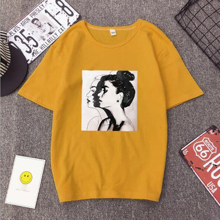 "Great Fashionable Women's ""T"" for Spring and Summer Gigs."